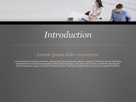 Consulting Services PowerPoint Template, Slide 3, 14912, Consulting — PoweredTemplate.com