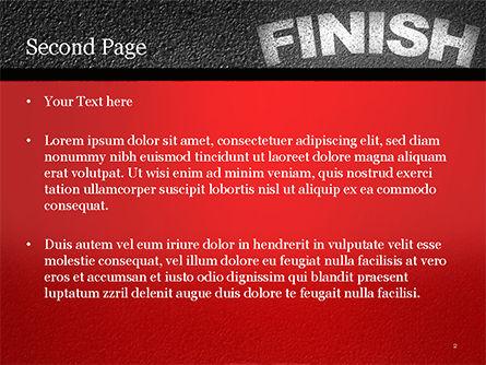 Mission Complete Concept PowerPoint Template, Slide 2, 14917, Business Concepts — PoweredTemplate.com