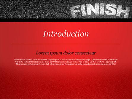 Mission Complete Concept PowerPoint Template, Slide 3, 14917, Business Concepts — PoweredTemplate.com