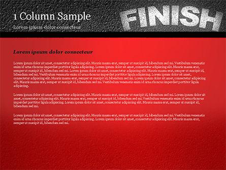 Mission Complete Concept PowerPoint Template, Slide 4, 14917, Business Concepts — PoweredTemplate.com