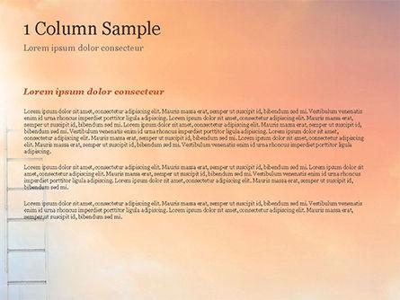 Ladder to The Sky PowerPoint Template, Slide 4, 14919, Religious/Spiritual — PoweredTemplate.com