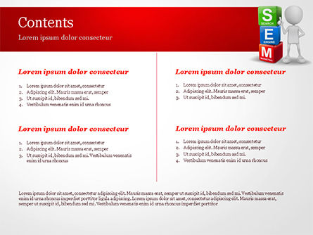 Search Engine Marketing PowerPoint Template, Slide 2, 14923, Careers/Industry — PoweredTemplate.com