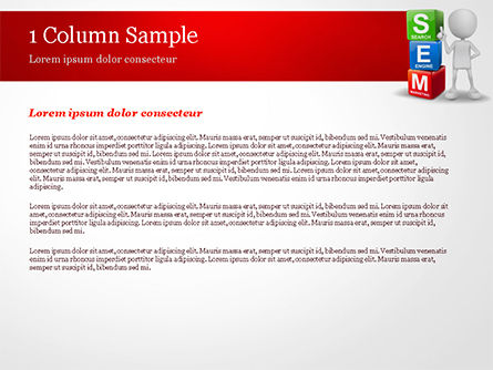 Search Engine Marketing PowerPoint Template, Slide 4, 14923, Careers/Industry — PoweredTemplate.com
