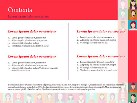 People Icons PowerPoint Template, Slide 2, 14927, People — PoweredTemplate.com