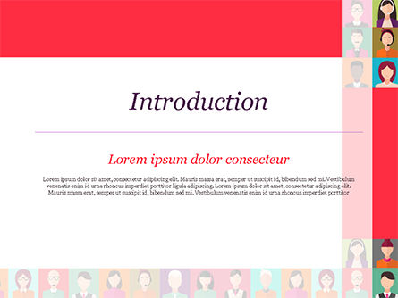 People Icons PowerPoint Template, Slide 3, 14927, People — PoweredTemplate.com