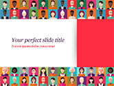 People: Plantilla de PowerPoint - iconos de personas #14927