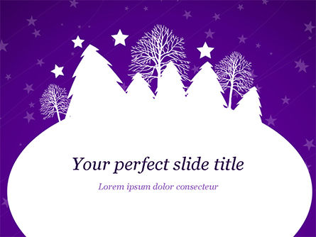 Christmas Holiday Background PowerPoint Template, 14928, Holiday/Special Occasion — PoweredTemplate.com