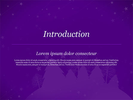 Christmas Holiday Background PowerPoint Template, Slide 3, 14928, Holiday/Special Occasion — PoweredTemplate.com