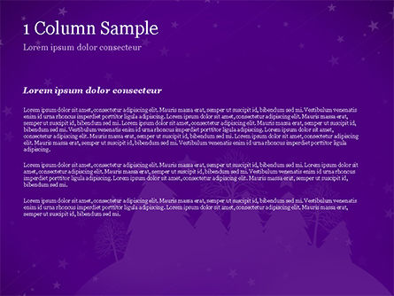 Christmas Holiday Background PowerPoint Template, Slide 4, 14928, Holiday/Special Occasion — PoweredTemplate.com
