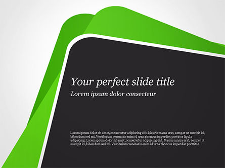 Abstract Paper Edges PowerPoint Template, 14929, Abstract/Textures — PoweredTemplate.com