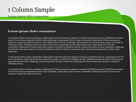 Abstract Paper Edges PowerPoint Template, Slide 4, 14929, Abstract/Textures — PoweredTemplate.com
