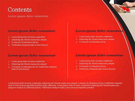 Last Piece of Puzzle PowerPoint Template, Slide 2, 14930, Business Concepts — PoweredTemplate.com