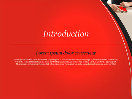 Last Piece of Puzzle PowerPoint Template, Slide 3, 14930, Business Concepts — PoweredTemplate.com