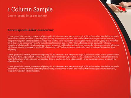 Last Piece of Puzzle PowerPoint Template, Slide 4, 14930, Business Concepts — PoweredTemplate.com