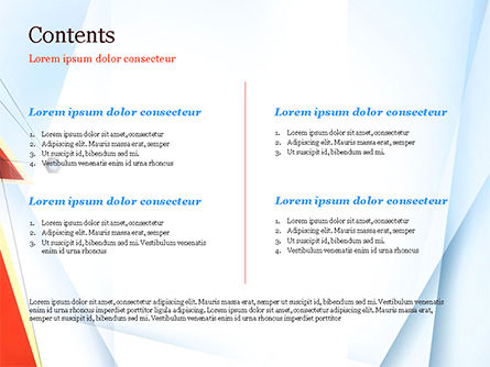 Connected Dots and Abstract Layers PowerPoint Template, Slide 2, 14936, Abstract/Textures — PoweredTemplate.com