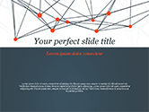 Abstract/Textures: Blockchain Network PowerPoint Template #14940