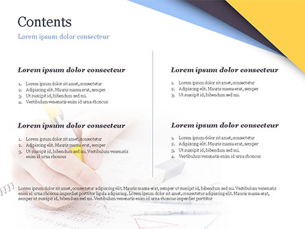 Test Study PowerPoint Template, Slide 2, 14945, 3D — PoweredTemplate.com