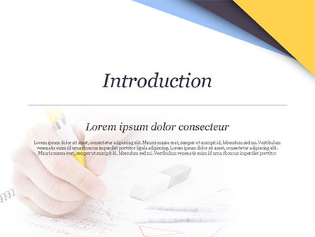 Test Study PowerPoint Template, Slide 3, 14945, 3D — PoweredTemplate.com