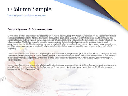 Test Study PowerPoint Template, Slide 4, 14945, 3D — PoweredTemplate.com