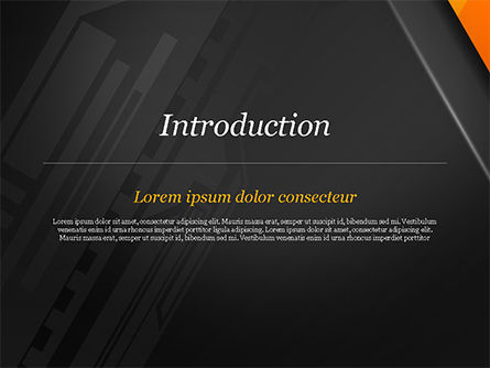Abstract Architecture Style Flat Background PowerPoint Template, Slide 3, 14948, Abstract/Textures — PoweredTemplate.com