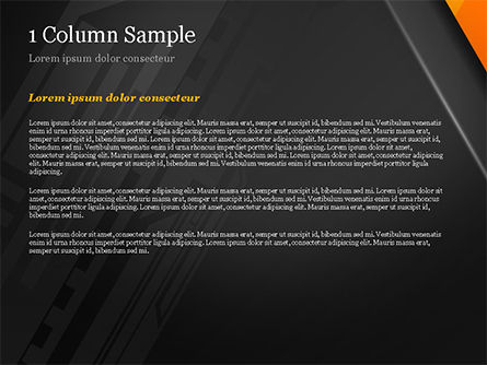 Abstract Architecture Style Flat Background PowerPoint Template, Slide 4, 14948, Abstract/Textures — PoweredTemplate.com
