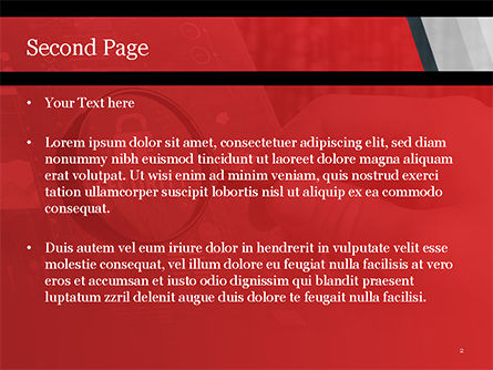 Information Data Security Concept PowerPoint Template, Slide 2, 14950, Technology and Science — PoweredTemplate.com