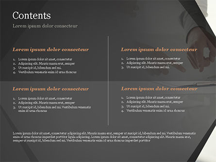 Consultation PowerPoint Template, Slide 2, 14954, Business Concepts — PoweredTemplate.com