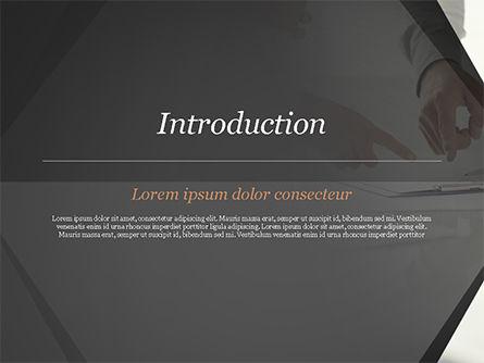 Consultation PowerPoint Template, Slide 3, 14954, Business Concepts — PoweredTemplate.com