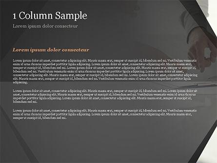 Consultation PowerPoint Template, Slide 4, 14954, Business Concepts — PoweredTemplate.com