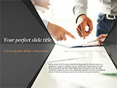Business Concepts: Consultation PowerPoint Template #14954