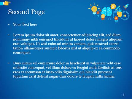 Creative Process Concept PowerPoint Template, Slide 2, 14956, Business Concepts — PoweredTemplate.com