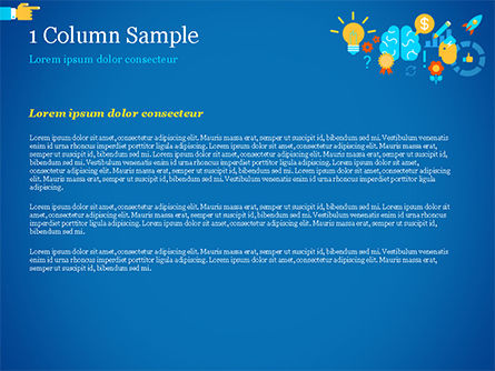 Creative Process Concept PowerPoint Template, Slide 4, 14956, Business Concepts — PoweredTemplate.com