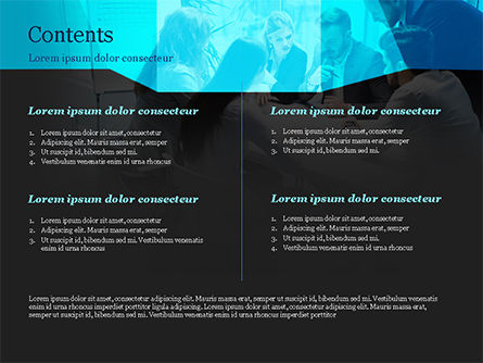Group of Business People Working Together PowerPoint Template, Slide 2, 14960, Business — PoweredTemplate.com
