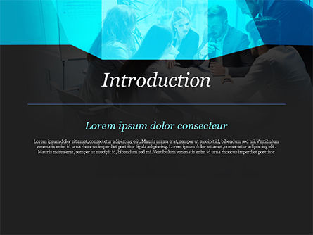 Group of Business People Working Together PowerPoint Template, Slide 3, 14960, Business — PoweredTemplate.com