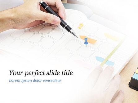 Work Schedule PowerPoint Template, 14962, Business — PoweredTemplate.com