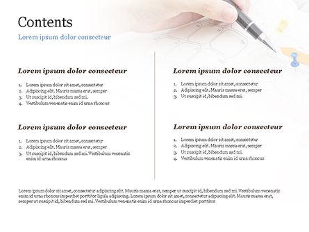 Work Schedule PowerPoint Template, Slide 2, 14962, Business — PoweredTemplate.com