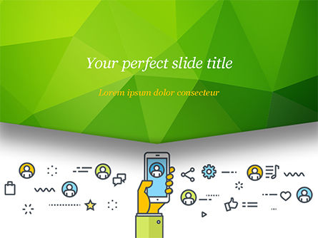 Digital Marketing Toolbox Free Presentation Template For