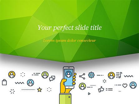 Digital Marketing Toolbox PowerPoint Template, 14964, Careers/Industry — PoweredTemplate.com