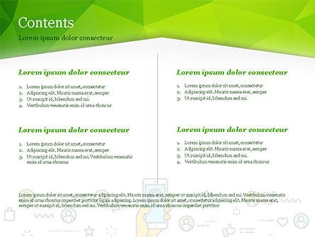 Digital Marketing Toolbox PowerPoint Template, Slide 2, 14964, Careers/Industry — PoweredTemplate.com