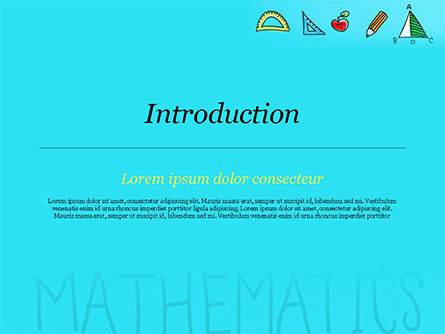 Mathematical Doodles PowerPoint Template, Slide 3, 14968, Education & Training — PoweredTemplate.com
