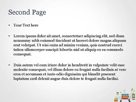 Online Shopping and Management Concept PowerPoint Template, Slide 2, 14976, Business — PoweredTemplate.com