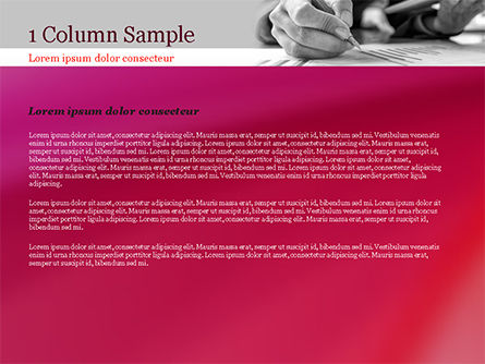 Report Analysis PowerPoint Template, Slide 4, 14986, Business — PoweredTemplate.com