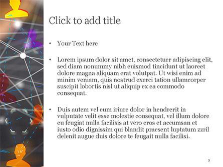 Social Network Virtual Icons PowerPoint Template, Slide 3, 14992, Business Concepts — PoweredTemplate.com