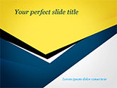 Abstract/Textures: Abstract Gesneden Papier PowerPoint Template #14994