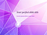 Abstract/Textures: Abstract Purple Triangles PowerPoint Template #14999