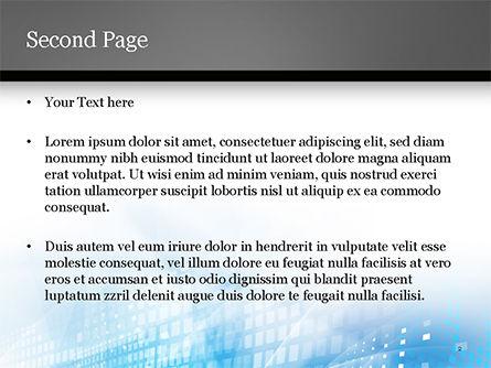 Cyber Background PowerPoint Template, Slide 2, 15003, Abstract/Textures — PoweredTemplate.com
