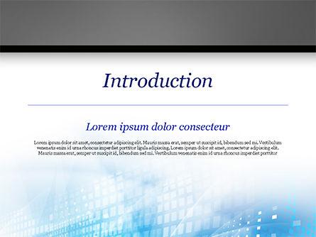 Cyber Background PowerPoint Template, Slide 3, 15003, Abstract/Textures — PoweredTemplate.com