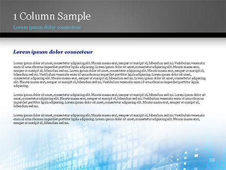 Cyber Background PowerPoint Template, Slide 4, 15003, Abstract/Textures — PoweredTemplate.com