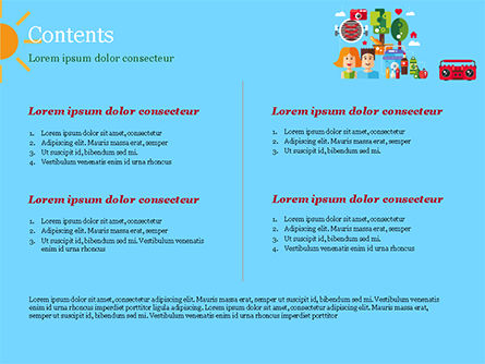Romantic Summer Picnic PowerPoint Template, Slide 2, 15007, Holiday/Special Occasion — PoweredTemplate.com