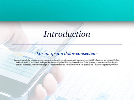 Mobile Trading PowerPoint Template, Slide 3, 15015, Business Concepts — PoweredTemplate.com